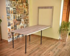 bulshitlovy - 0 results for home Space Saving Dining Table, Space Saving Furniture, Home Furniture, Home Office Table, Home Office Design, Wall Mounted Dining Table, Cupboard Design, Modern Kitchen Design, Home Organization