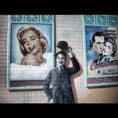 Monroe-Chaplin-Casablanca