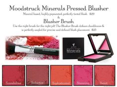 Introducing the New younique Blushers Now Pressed!!