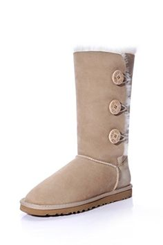 UGG Australia Womens Bailey Button Triplet Sheepskin Fashion Boots Sand75 UK 40 EU -- You can get additional details at the image link.