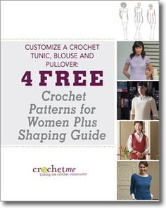 Dont forget to download your free crochet patterns for women!