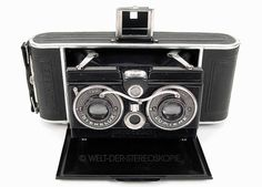 Lumière Sterelux (France, 1931) stereoscopic camera