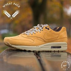 #nike #airmax1 #wheatpack #airmax  Nike Air Max 1 'Wheat' - Nike's 'Wheat collection' from last year made people wild! This Air Max 1 is equipped with a clean gumsole and has a dope 'Bronze-Baroque Brown' upper.  Now online available | Air Max 1 priced at 139.95 EU | Men Sizes 38.5 – 47.5 EU