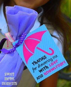 Teacher Gift Idea: Umbrella with Simple Appreciation Poem ...