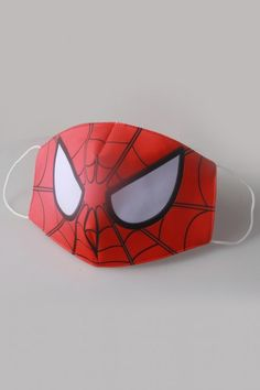kids face mask Spiderman Cosplay Face Mask for Kids and Adults Face Masks For Kids, Easy Face Masks, Diy Face Mask, Diy Mask, Cosplay Spiderman, Spiderman Face, Spiderman Theme Party, Crochet Mask, Funny Face Mask