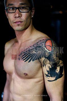 Winston's Eagle - www.tattootemple.hk