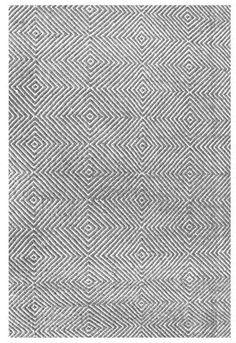 nuLoom Lago Flatweave Hand-Woven Wool Rug