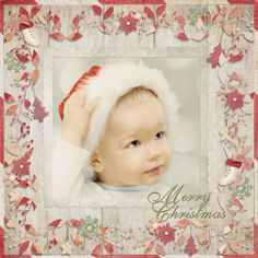 Old Fashioned Christmas Collection Mini digital scrapbooking kit, by Cindy Rohrbough: Scrap Girls