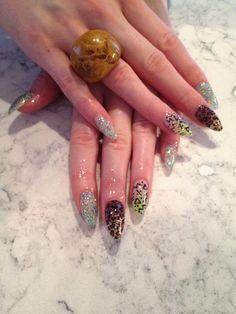 Animal print tribal Animal, Nails, Makeup, Beauty, Jewelry, Finger Nails, Make Up, Jewlery, Ongles