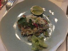 Classic Crab starter  L'Escargot, Soho, London  #zesty #fresh #superb JaxEtta.com Photography