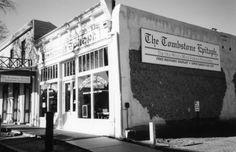 Tombstone Epitath, Tombstone, Arizona Tombstone Arizona, Real Cowboys, Haunted Places, Old West, Multi Story Building, Display, Gallery, Floor Space, Billboard