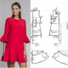 Make Your Own Clothes, Diy Clothes, Clothes For Women, T Shirt Sewing Pattern, Jumpsuit Pattern, Sewing Blouses, Embroidery On Clothes, Dress Making Patterns, Fashion Sewing