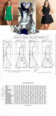 Amazing Sewing Patterns Clone Your Clothes Ideas. Enchanting Sewing Patterns Clone Your Clothes Ideas. Dress Sewing Patterns, Sewing Patterns Free, Clothing Patterns, Diy Clothing, Sewing Clothes, Fashion Sewing, Diy Fashion, Diy Kleidung, Diy Mode