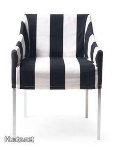 indoor/outdoor dining Slip cover for Ystävä chair by Valanti /   Ystävä-tuolin irtopäällinen