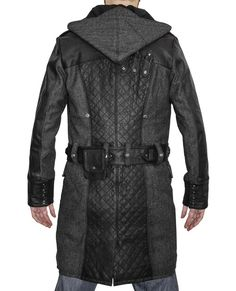 Buy Jacob Frye Wool Pea Coat Assassin's Creed Syndicate Costume Hoodie Trench Jacket at online store Assassins Creed Costume, Trench Jacket, Coat Sale, Wool Coat, Assassin's Creed, Mantel, Black And Brown, Cool Outfits, Costumes