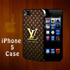 SA2027 Louis Vuitton Logo Iphone 5 Case | statusisasi - Accessories on ArtFire