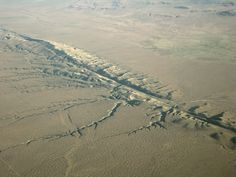The San Andreas Fault Is A Geological Fault Of Roughly 1,300 Km Through California In The United States