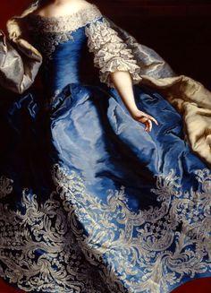 Maria Theresa (detail), 1749, by Martin van Meytens (Dutch-Swedish, 1695-1770)