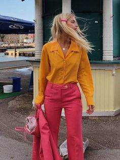 15 Sustainable Fashion Brands Every Editor Shops From Now Colourful Outfits, Colorful Fashion, Formal Business Attire, Business Outfits, Business Fashion, Business Casual, Look Fashion, Fashion Outfits, Woman Outfits