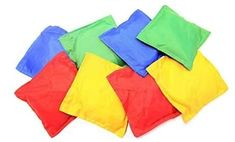 Oojami Nylon Bean Bags Toy Assorted (5 Inches by 5 Inches, 12 Piece) Oojami