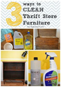 Second Hand Store Furniture ways to clean thrift store and second hand furniture | thrift