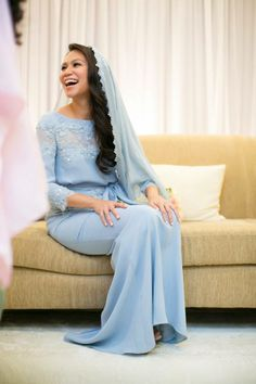 Dress in place of baju kurung or kebaya