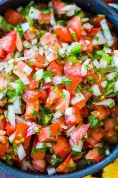 Authentic Mexican Recipes, Mexican Food Recipes, Ethnic Recipes, Mexican Desserts, Carne Asada, Taste Restaurant, Ceviche Recipe, Pico Recipe, Recipe For Salsa