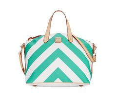 Dooney & Bourke Chevron Large Gabriella Satchel - Handbags & Accessories - Macy's