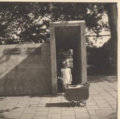 1940 - 1945. Air raid shelter near the Van Heutzmonument (now Monument Indië-Nederland) at the Olympiaplein in Amsterdam. #amsterdam #Worldwar2 #Olympiaplein