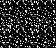 90s Party - Charcoal/Black by Andrea Lauren