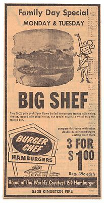 How much did a hamburger cost in 1970?