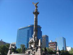 Columna de la Independencia en el Paseo de la Reforma, Ciudad de Mexico