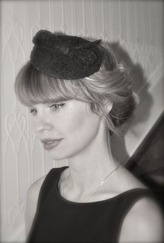 Lace Fascinator by ANASTASIA #millinery #hats #HatAcademy