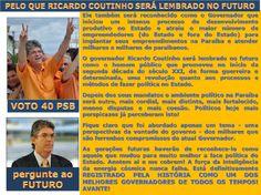 Como Ricardo Coutinho Governante e Gestor de Excelência do Estado da Paraíba será lembrado no futuro?