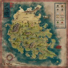 The mighty Ynchong Empire - Remake by Sapiento.deviantart.com on @deviantART