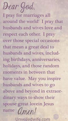 Prayer Of The Day – Remember Special Occasions by @unveiledwife