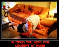 Crossfit At Home: 10 Items You Need