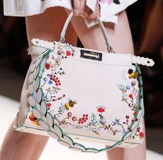 Collezione borse Fendi Primavera Estate 2017 - Handbag con decorazioni