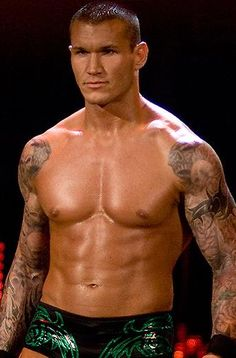 Randy Orton- the main reason my husband can get me interested in watching wrestling lol ;)