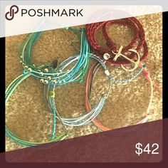 Special listing for @skinnylilaggie Includes all 5 bracelets you see in picture!😊 Jewelry Bracelets