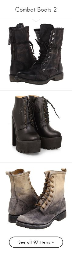 """Combat Boots 2"" by thecomedian ❤ liked on Polyvore featuring shoes, boots, leather boots, leather lace up boots, black army boots, black lace up boots, military lace up boots, black, black platform shoes and roxy shoes"