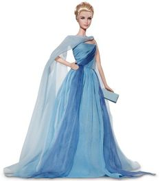 Barbie Grace Kelly robe bleue