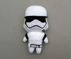 Star Wars Darth Vader Boba Fett Stormtrooper Felt by BobeenaShop