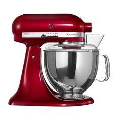 Artisan Köksmaskin Röd metallic, KitchenAid