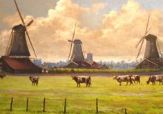 "Studio 55 Art Exhibition ""Windmills and Landscapes"""