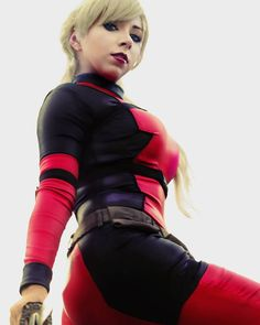 Cute Cosplay, Cosplay Girls, Girl Costumes, Costumes For Women, Lady Deadpool, Marvel Comic Character, Nice Tops, Techno, Marvel Comics