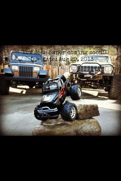 The best baby announcement ever for Jeep lovers!