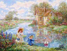 lee dubin artist | Lee Dubin. Конец 19 века » Арт и Рисованая ...