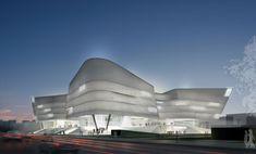 Проект городской библиотеки в Инкоу бюро Valode & Pistre Architectes :: Архплатформа