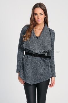 bryce coat - grey | Esther clothing Australia and America USA, boutique online ladies fashion store, shop global womens wear worldwide, designer womenswear, prom dresses, skirts, jackets, leggings, tights, leather shoes, accessories, free shipping world wide. – Esther Boutique